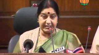 BJP Press: Parliament Session on Lokpal Bill: Smt. Sushma Swaraj: 28.12.2011