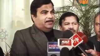 BJP Byte: Parliament Session on Lokpal Bill: Sh. Nitin Gadkari: 30.12.2011