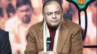 BJP Press: Parliament Session on Lokpal Bill: Sh. Arun Jaitley: 30.12.2011