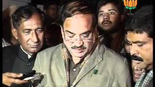 BJP Byte: Announcement of Candidates for Election of UP & Uttarakhand: Sh. Ananth Kumar: 03.01.2012