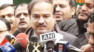 BJP Byte: List of Candidate of Manipur & Punjab Election: Sh. Ananth Kumar: 04.01.2012