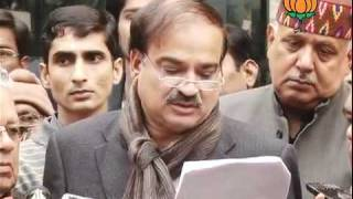 BJP Byte: List of Candidate of UP Election: Sh. Ananth Kumar: 04.01.2012