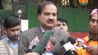 BJP Byte: Salman Khurshid Statement on Election Commisssion: Sh. Ananth Kumar: 13.01.2012