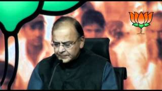 BJP Press : Uttar Pradesh Election issues : Shri Arun Jaitley