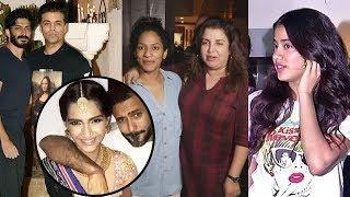 Sonam Kapoor's Marriage Wedding Preparation, Karan Johar, Farah At Sonam Kapoor's House