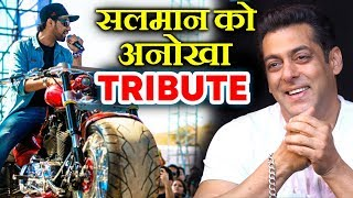 Modified Harley-Davidson Da Bang: Tribute To Salman Khan Sports The Fattest Tyre In The World!