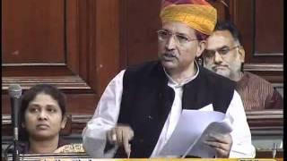 Provide health insurance to Sewer cleaners: Sh. Arjun Ram Meghwal: 20.12.2011