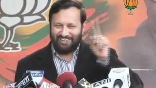 BJP Press: Devas Spectrum Scam: Sh. Prakash Javadekar: 25.01.2012