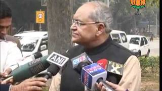 BJP Byte: 2G: Court's decision on Chidambaram: Sh. Balbir Punj : 04.02.2012