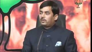BJP Press: UP Election Campaigning: Sh. Syed Shahnawaz Hussain: 06.02.2012