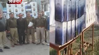 आबकारी पुलिस ने 40 लाख की अवैध शराब पकड़ी