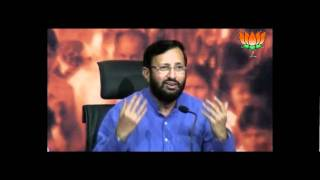 BJP Press: SC Decision on Ramdev & Jaiswal's statement: Sh. Prakash Javadekar: 23.02.2012