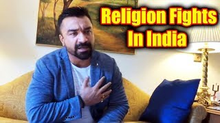 Emotional Ajaz Khan Speaks On Religion Fights In India | This Time Its Ajaz Indian Khan