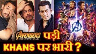 Avengers Infinity War Day 1 Box Office VS Salman Khan, Shah Rukh Khan & Aamir Khan