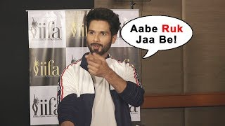 Abey Ruk Jaa Be | Shahid Kapoor TROLLS Media Reporter | Funny Moment