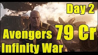 Avengers Infinity War Collection Day 2 In India