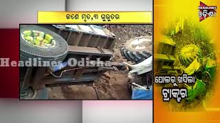 Tractor Accident in Boudh