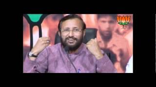 BJP Press: Coal Scam: Sh. Prakash Javadekar & Sh. Hansraj Gangaram Ahir: 23.03.2012