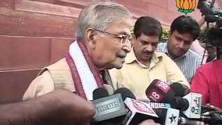 BJP Byte: Army Chief General V K Singh's statement: Sh. Murli Manohar Joshi: 26.03.2012