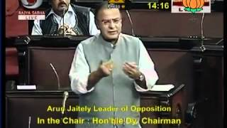 Speech in Rajya Sabha on BSF Bill: Sh. Arun Jaitley: 29.03.2012