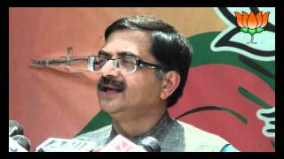 BJP Byte: CAG report on Indian defence Structure: Sh. Tarun Vijay: 06.04.2012