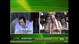 Discontentment Among The Working Class: Sh. Murli Manohar Joshi: 19.03.2012