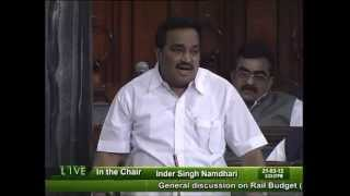 Budget Railways for 2012-13: Sh. Chandrakant R. Patil: 21.03.2012
