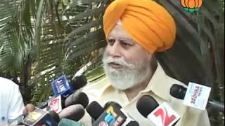 BJP Byte: Nominate Rajya Sabha Candidate from Jharkhand: Sh. S. S. Ahluwalia: 19.04.2012