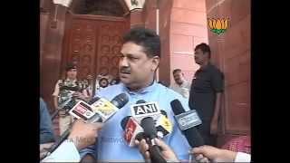 BJP Byte: Baba Ramdev statement on MPs: Sh.  Kirti Azad: 02.05.2012