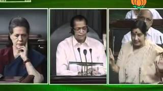 Matters of urgent public importance: Smt. Sushma Swaraj: 07.05.2012:LQ