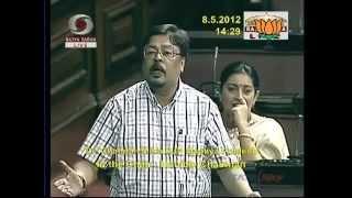 150th birth anniversary of Rabindranath Tagore: Sh. Chandan Mitra: 08.05.2012:LQ