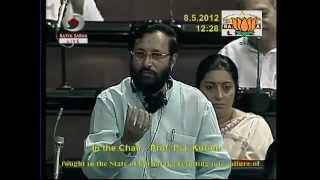 Situation arising out of severe drought: Sh. Prakash Javadekar: 08.05.2012:LQ