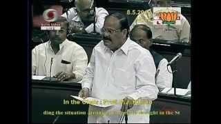 Situtaion arising out of severe drought: Sh. Ravi Shankar Prasad: 08.05.2012:LQ