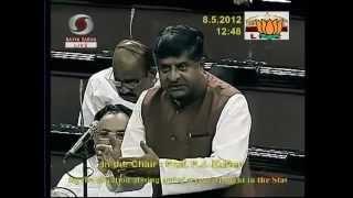 Situation arising out of severe drought: Sh. Ravishankar Prasad: 08.05.2012:LQ