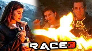 Salman Khan Jacqueline Fernandez CHILLING In Ladakh | RACE 3 Shooting