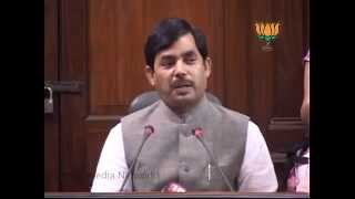 BJP Press: Aircel-Mexis Deal: Sh. Syed Shahnawaz Hussain: 10.05.2012