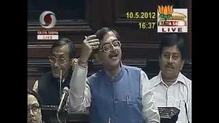 Condition of Railway in India: Sh. Tarun Vijay: 10.05.2012