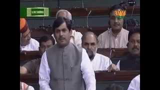 Speech on AirIndia strike: Sh. Syed Shahnawaz Hussain: 10.05.2012