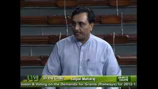 Discussion & voting on the demands for Grants(Ralways): Sh. Mahendra Singh Chauhan: 24.04.2012