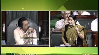 Matters of urgent public importance: Smt. Sushma Swaraj: 25.04.2012