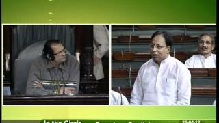 Discussion on demands for grants for health & family welfare: Sh. Sanjay Jaiswal: 26.04.2012