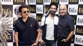 IIFA 2018 Voting Weekend | Anil Kapoor, Shahid Kapoor, Anupam Kher, Chunkey Pandey