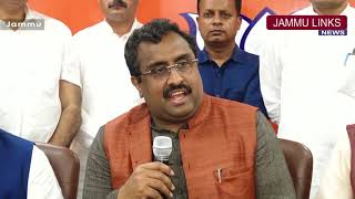 No coalition without hiccups, BJP-PDP will deliver on promises: Ram Madhav