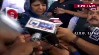Mehbooba Mufti counts on better work after cabinet rejig