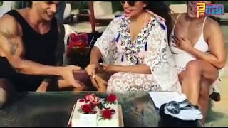 Bipasha Basu & Karan Singh Grover First Marrige Anniversary  Celebrations