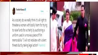 मुंबई - ट्विंकल को मिली नाक तोड़ने की धमकी - tv24