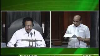 Matters of Urgent Public Importance: Sh. Naranbhai Kachhadia: 03.05.2012
