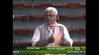 Matters of Urgent Public Importance: Sh. Hukmdev Narayan Yadav: 30.04.2012