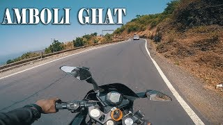 RIDING KTM RC 390 IN AMBOLI GHAT (UNCUT VIDEO)