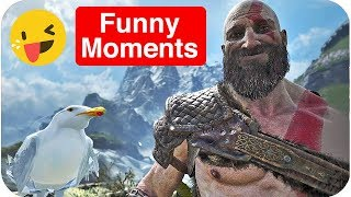 GOD OF WAR - Funny Moments & Fails Compilation (2018) | comedy video by Baklol Bunny